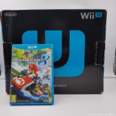 Nintendo Wii U: CONSOLA WII U 32 GB WIIU PREMIUM + MARIO KART 8.COMBINO ENVÍOS.. Lote 104897695