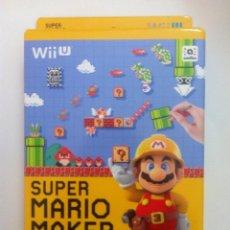 Nintendo Wii U: MARIO MAKER + ARTBOOK NINTENDO WII U PAL EUROPA. Lote 107048763