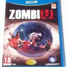 Nintendo Wii U: ZOMBI U NINTENDO WII U PAL ESPAÑA. Lote 107049083