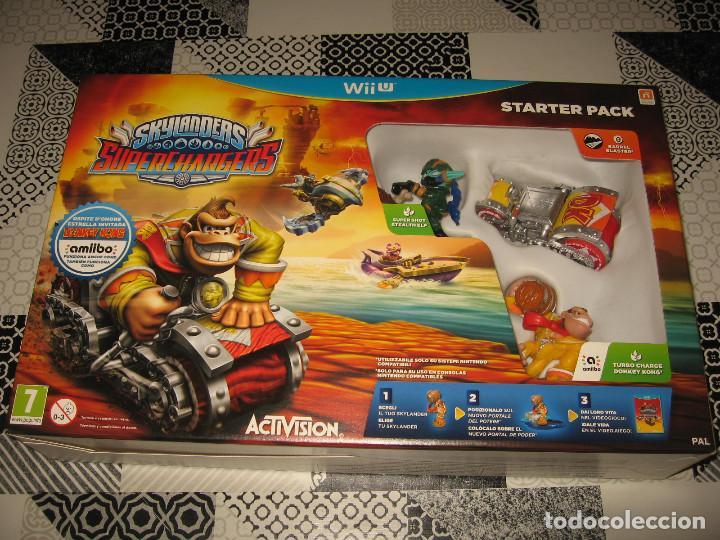 SKYLANDERS SUPER CHARGERS NINTENDO WII U PAL ESPAÑA PRECINTADO CON AMIIBO DONKEY KONG (Juguetes - Videojuegos y Consolas - Nintendo - Wii U)