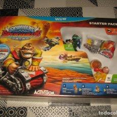 Nintendo Wii U: SKYLANDERS SUPER CHARGERS NINTENDO WII U PAL ESPAÑA PRECINTADO CON AMIIBO DONKEY KONG. Lote 108638107