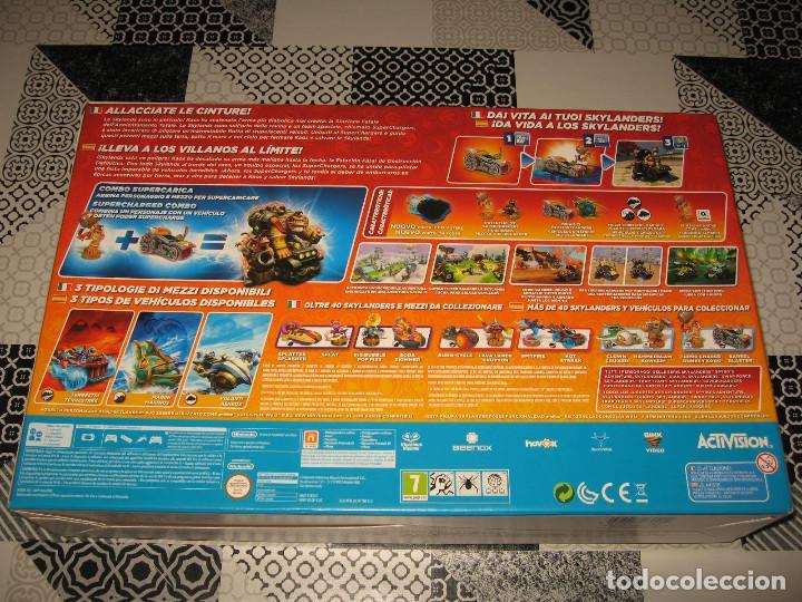 Nintendo Wii U: SKYLANDERS SUPER CHARGERS NINTENDO WII U PAL ESPAÑA PRECINTADO CON AMIIBO DONKEY KONG - Foto 3 - 108638107