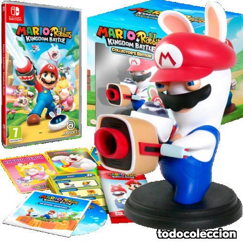 MARIO+RABBIDS KINGDOM BATTLE COLLECTOR'S EDITION NINTENDO SWITCH ***NUEVO A ESTRENAR*** (Juguetes - Videojuegos y Consolas - Nintendo - Wii U)