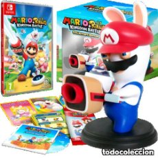 Nintendo Wii U: MARIO+RABBIDS KINGDOM BATTLE COLLECTOR'S EDITION NINTENDO SWITCH + REGALO CÓDIGO. Lote 108749283