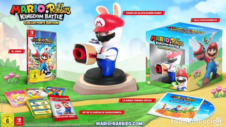 Nintendo Wii U: Mario+Rabbids Kingdom Battle Collectors Edition Nintendo Switch ***NUEVO A ESTRENAR*** - Foto 3 - 108749283