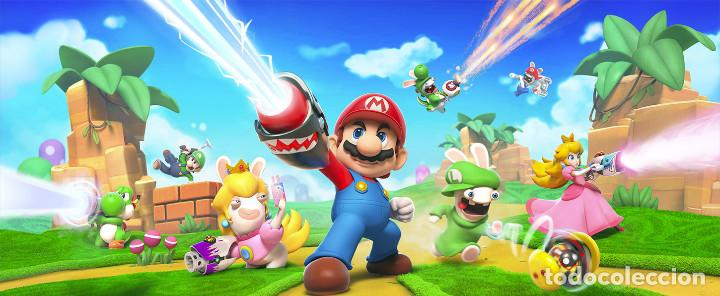 Nintendo Wii U: Mario+Rabbids Kingdom Battle Collectors Edition Nintendo Switch ***NUEVO A ESTRENAR*** - Foto 7 - 108749283