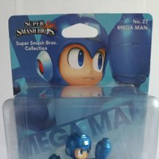 Nintendo Wii U: AMIIBO MEGAMAN SUPER SMASH BROS COLLECTION Nº 27. Lote 108754343