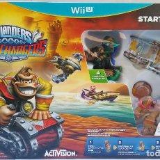 Nintendo Wii U: SKYLANDERS SUPERCHARGERS STARTER PACK WIIU AMIIBO -NUEVO A ESTRENAR-. Lote 108756247