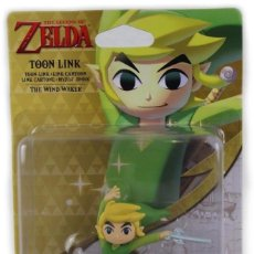 Nintendo Wii U: AMIIBO TOON LINK, THE WIND WAKER -THE LEGEND OF ZELDA- NUEVO + REGALO POSTER. Lote 108834171