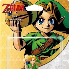 Nintendo Wii U: AMIIBO LINK MAJORA'S MASK THE LEGEND OF ZELDA. Lote 108834487
