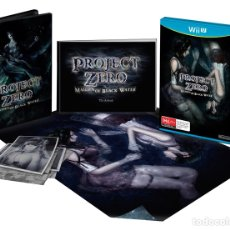 Nintendo Wii U: PROJECT ZERO MAIDEN OF THE BLACK WATER EDICIÓN COLECCIONISTAS. Lote 109098738