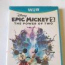 Nintendo Wii U: EPIC MICKEY 2 THE POWER OF TWO - PRECINTADO. Lote 113201311