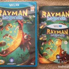 Nintendo Wii U: RAYMAN LEGENDS NINTENDO WII-U WIIU KREATEN. Lote 113342955