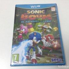 Nintendo Wii U: SONIC BOOM EL ASCENSO DE LYRIC. Lote 114639811