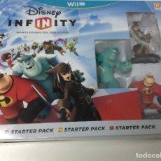Nintendo Wii U: DISNEY INFINITY STARTER PACK. Lote 114685795