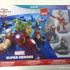 Nintendo Wii U: DISNEY INFINITY 2.0 MARVEL SUPER HEROES STARTER PACK. Lote 114686895