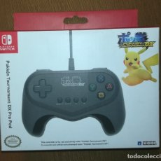 Nintendo Wii U: MANDO POKEMON TOURNAMENT DX PRO NINTENDO SWITCH ORIGINAL NUEVO A ESTRENAR. Lote 113517748