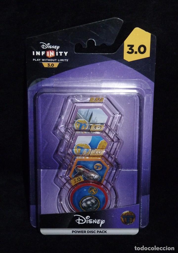 DISNEY INFINITY 3.0 PLAY WITHOUT LIMITS. POWER DISC PACK. NINTENDO. NUEVO EN BLISTER (Juguetes - Videojuegos y Consolas - Nintendo - Wii U)