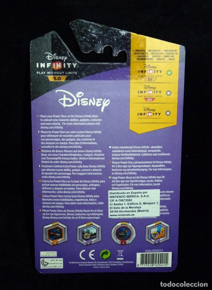 Nintendo Wii U: DISNEY INFINITY 3.0 PLAY WITHOUT LIMITS. POWER DISC PACK. NINTENDO. NUEVO EN BLISTER - Foto 2 - 115453763