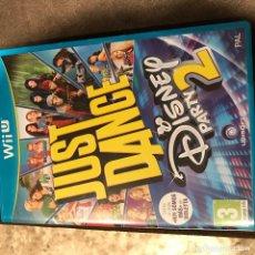 Nintendo Wii U: JUEGO JUST DANCE DISNEY PARTY 2, NUNCA JUGADO, SIN ENVOLTORIO . Lote 133221287