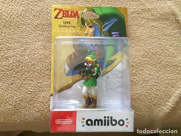 Amiibo the legend of zelda link ocarina of time - Sold