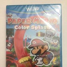 Nintendo Wii U: PAPER MARIO COLOR SPLASH NINTENDO WII U PAL ESPAÑA. Lote 107047787