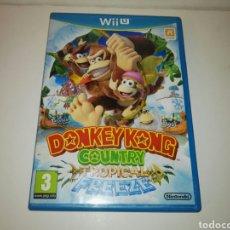 Nintendo Wii U: DONKEY KONG COUNTRY TROPICAL FREEZE WII U. Lote 121298204
