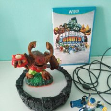 Nintendo Wii U: JUEGO SKYLANDERS GIANTS CON PLATAFORMA Y FIGURAS PARA WII U. Lote 121316523