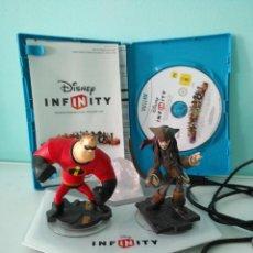 Nintendo Wii U: JUEGO DISNEY INFINITY CON PLATAFORMA Y FIGURAS PARA WII U. Lote 121335991