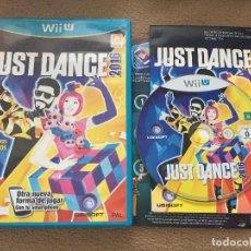 Nintendo Wii U: JUST DANCE 2016 NINTENDO WII-U WIIU . Lote 121365831