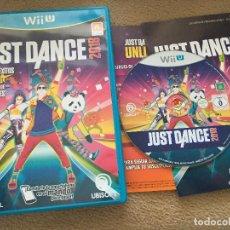 Nintendo Wii U: JUST DANCE 2018 NINTENDO WII-U WIIU . Lote 121381595