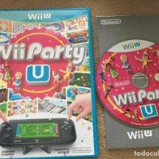 Nintendo Wii U: WII PARTY U NINTENDO WII-U WIIU . Lote 121381879
