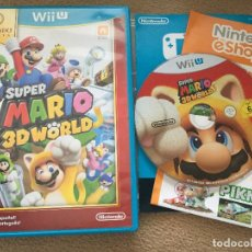 Nintendo Wii U: SUPER MARIO 3D WORLD NINTENDO WII-U WIIU . Lote 121382075