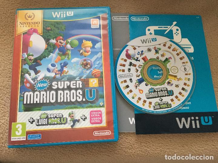 New Super Mario Bros U Luigi Nintendo Wii U W Buy Video Games
