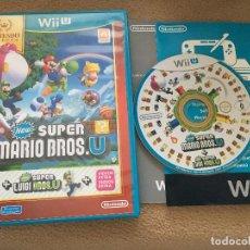 Nintendo Wii U: NEW SUPER MARIO BROS U + LUIGI NINTENDO WII-U WIIU . Lote 121382287