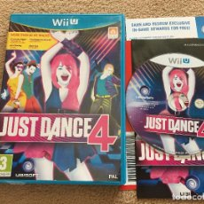 Nintendo Wii U: JUST DANCE 4 NINTENDO WII-U WIIU KREATEN. Lote 121928975