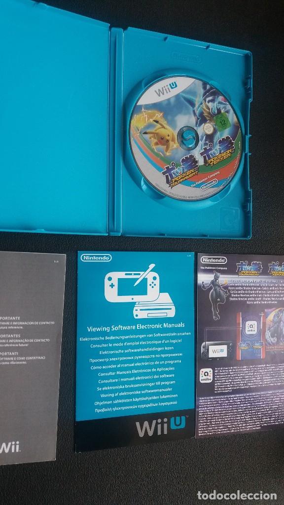 Nintendo Wii U: Pokken Tournament *** para Nintendo WiiU ** como nuevo !!!! - Foto 2 - 123237735