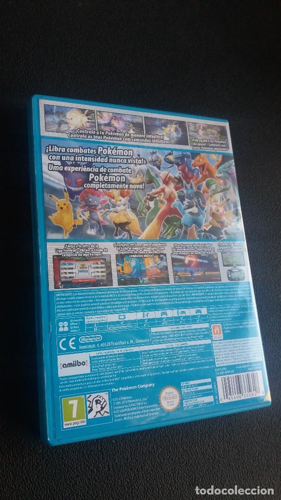 Nintendo Wii U: Pokken Tournament *** para Nintendo WiiU ** como nuevo !!!! - Foto 3 - 123237735