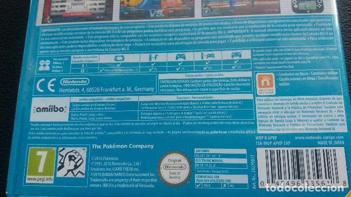 Nintendo Wii U: Pokken Tournament *** para Nintendo WiiU ** como nuevo !!!! - Foto 4 - 123237735