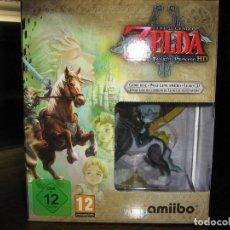 Nintendo Wii U: ZELDA TWILIGHT PRINCESS HD - EDICIÓN COLECCIONISTA - NUEVO PRECINTADO - NINTENDO WII U. Lote 127126411