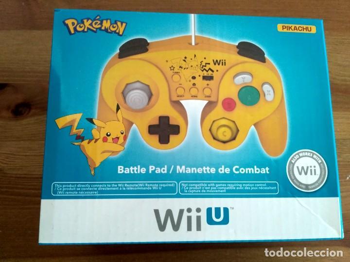MANDO EDICIÓN ESPECIAL PIKACHU DE HORI WIIU NUEVO (Juguetes - Videojuegos y Consolas - Nintendo - Wii U)