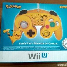 Nintendo Wii U: MANDO EDICIÓN ESPECIAL PIKACHU DE HORI WIIU NUEVO. Lote 129310163