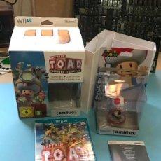 Nintendo Wii U: CAPTAIN TOAD TREASURE TRACKER + AMIIBO - PRECINTADO. Lote 130067587