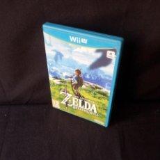Nintendo Wii U: THE LEGEND OF ZELDA BREATH OF THE WILD - NINTENDO, WII U - 2017. Lote 130326902