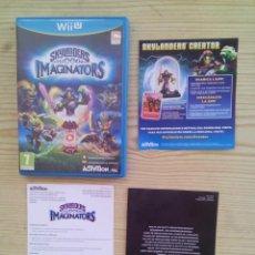 Nintendo Wii U: NINTENDO WII U SKYLANDERS IMAGINATORS - CAJA SIN INSTRUCCIONES - SIN JUEGO. Lote 130998500