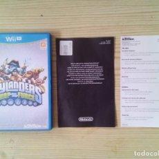 Nintendo Wii U: NINTENDO WII U SKYLANDERS SWAP FORCE - CAJA SIN INSTRUCCIONES - SIN JUEGO. Lote 130998620
