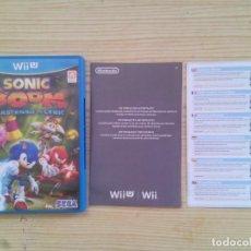 Nintendo Wii U: NINTENDO WII U SONIC BOOM EL ASCENSO DE LYRIC - CAJA SIN INSTRUCCIONES - SIN JUEGO. Lote 130998744