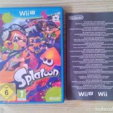 Nintendo Wii U: NINTENDO WII U SPLATOON - CAJA SIN INSTRUCCIONES - SIN JUEGO. Lote 130998852