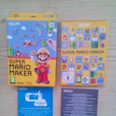 Nintendo Wii U: NINTENDO WII U SUPER MARIO MAKER - CAJA Y ESTUCHE SIN INSTRUCCIONES - SIN JUEGO. Lote 130999080