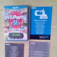 Nintendo Wii U: NINTENDO WII U WII PARTY U - CAJA SIN INSTRUCCIONES - SIN JUEGO. Lote 130999340